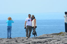 Parag and Preeti at Burren , patsonbtp - July 2014