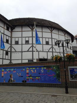 Photo of London Shakespeare's Globe Theatre Tour and Exhibition NOTHING LIKE BEING IN THE HOUSE AS THE PLAY UNFOLDS