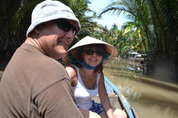 Photo of Ho Chi Minh City Mekong Delta Discovery Small Group Adventure Tour from Ho Chi Minh City On the Row Boat