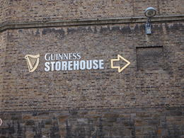 Guinness Storehouse, Rachel - March 2014
