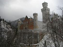 A shot of the castle from the observation ledge right before you go to it.. , Robert S - December 2011