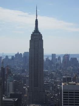 This is the Empire State Building looking southwards, downtown Manhattan., Lindsay F - April 2008