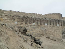 Sun temple at Pachacamac , Sundaram R - September 2014