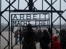 Photo of Munich Dachau Concentration Camp Memorial Small Group Tour from Munich The entrance