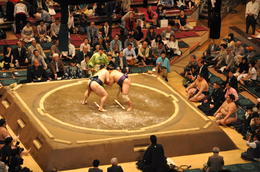 Photo of Tokyo Tokyo Sumo Wrestling Tournament The match was on...