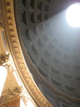 Inside the Pantheon,definitely the best view, nevermind any restoration work out front!, Jessica R - May 2010