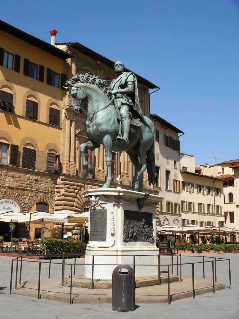 The Piazza - Florence