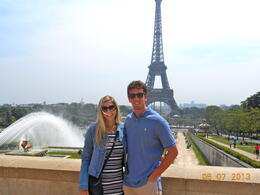 Just finished the and quot;Skip the Line and quot; tour of the Eiffel Tower. , Elena S - July 2013