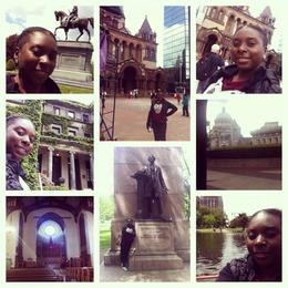 Some places we got to see where the public gardens where for $3.00 you can get on a swan boat and cruise around a small lake/pond. We also stopped at Copley square where we got to see Trinity ... , Natashia L - May 2014