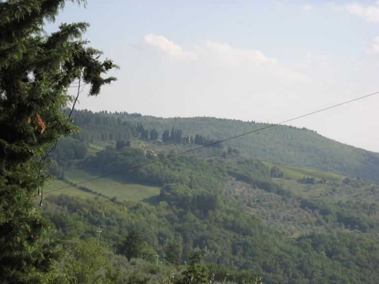 View from Chianti - Florence
