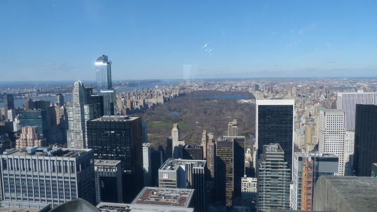 vue du haut - New York City