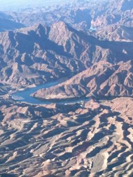 Photo of Las Vegas Las Vegas Combo Tour: Grand Canyon Helicopter Flight and Colorado River Float Day Trip Aerial View