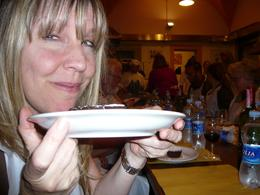 Photo of Florence Tuscan Cooking Class and Dinner in Florence Amy's approval!