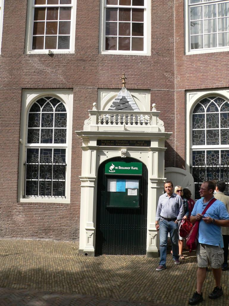 Door to the Hidden Church - Amsterdam