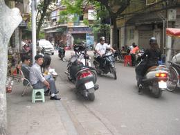 Photo of   Drinking Coffee in Old Hanoi