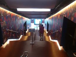 inside Barça's stadium, Rosane - August 2013