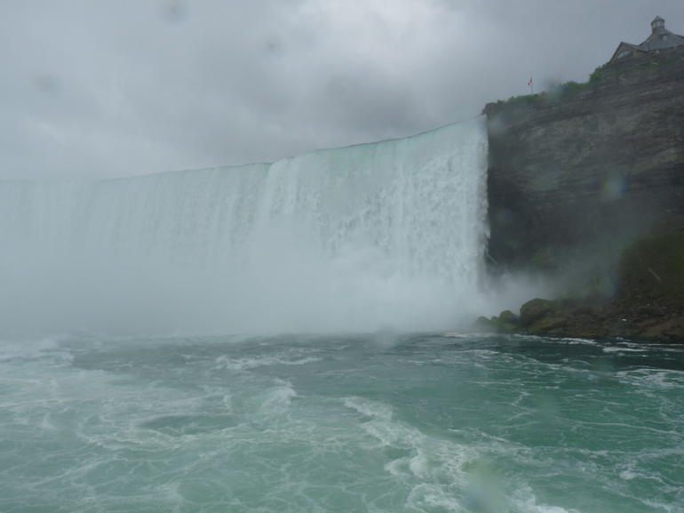 From the maid of the mist - New York City