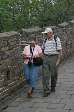 Roaming on the Great Wall - May 2012