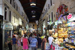 Tourists and locals shopping in the Grand Bazaar including us looking for that unusual item. , Jenny H - August 2015