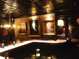 Private bar room, Rachel - March 2014