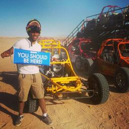 Photo of Las Vegas Mini Baja Buggy Half-Day Tour from Las Vegas Showing OuT!