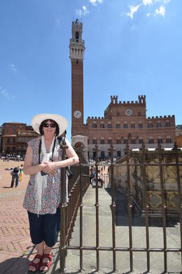 Christine Nash in Siena , Peter N - May 2013