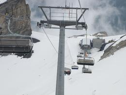 Photo of Lucerne Mount Titlis Eternal Snow Half-Day Trip from Lucerne The Chair Lift