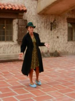 At Scotty's Castle , Lynda S - January 2014