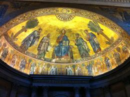 Alters, ceilings, and floors of the Vatican, the Basilicas, the Vatican Museums. , Denise H - September 2013