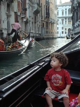 Photo of Venice Venice Gondola Ride and Serenade with Dinner Baby Ryan in Gondola