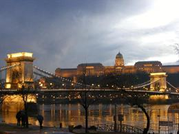 Photo of Budapest Budapest Night Walking Tour and River Cruise Chain Bridge and Royal Palace