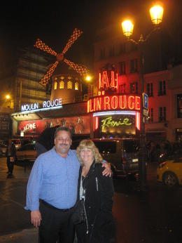 Photo of Paris Moulin Rouge Show Paris Clint and Sue