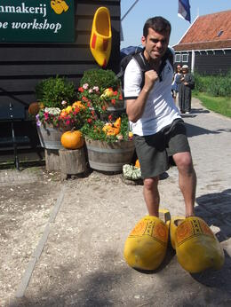 Photo of   Clog shoes Olympics