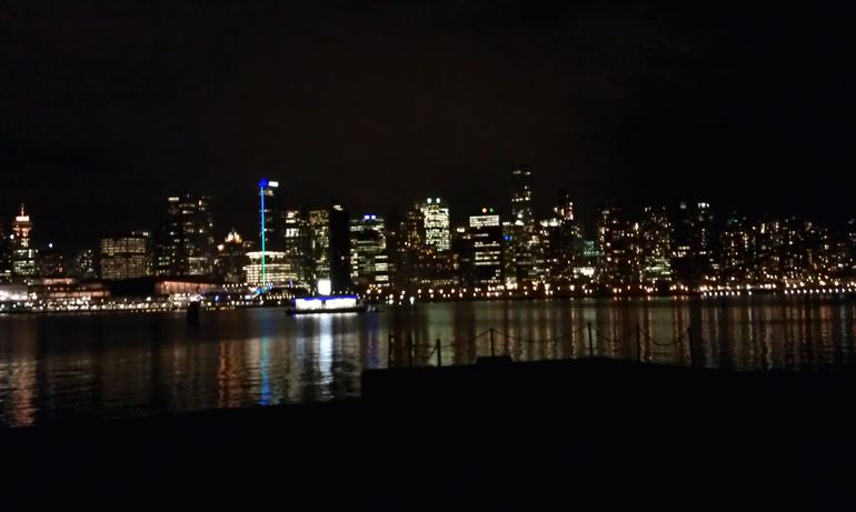 Downtown Vancouver at night - Vancouver