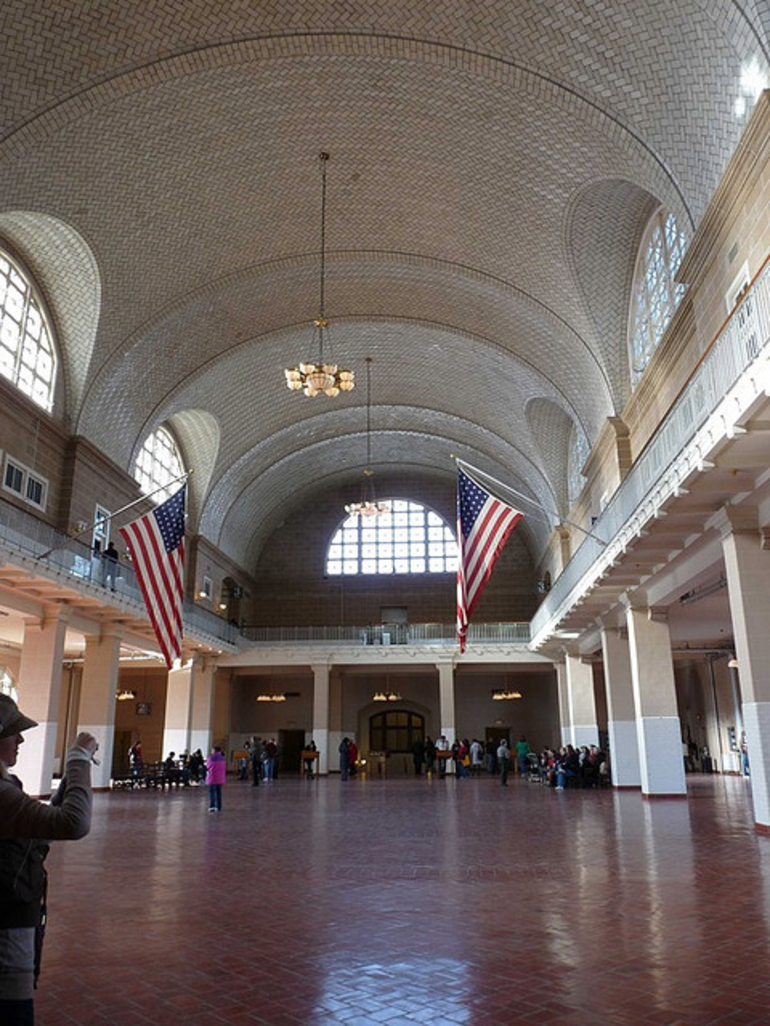 Ellis Island Hall - New York City