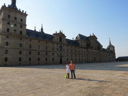 Photo of Madrid Madrid Super Saver: El Escorial Monastery and Toledo Day Trip from Madrid Extraordinaria edificación.