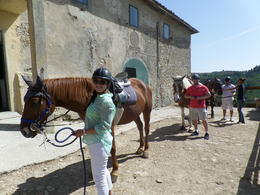 Photo of Florence Horse Riding in Chianti Day Trip from Florence Horse back riding in Tuscany!