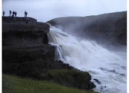 Gulfoss........even more breathtaking in person........(and we were there on a rainy, gloomy night). , eldeedee - September 2012