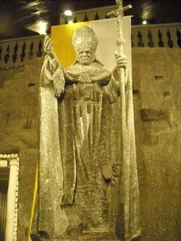 Photo of Krakow Wieliczka Salt Mine Half-Day Trip from Krakow Pope John Paul II