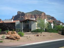 Driving through Sedona, Jolie A - June 2010