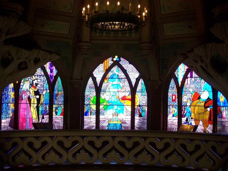 Stained Glass in Castle - Paris