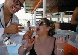 Photo of Cancun Sightseeing, Snorkeling and Dancing Catamaran Cruise from Cancun Tequila time!