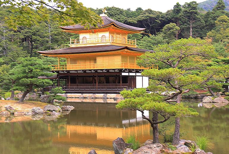 The Golden Pavilion at Kyoto - Osaka