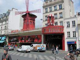 Photo of Paris Moulin Rouge Show Paris The Moulin Rouge by day