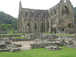 Another shot of the ruins at Tintern Abbey. , Tighthead Prop - December 2010