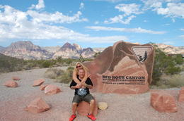 Wir im Red-Rock Canyon , Jerry F - August 2014