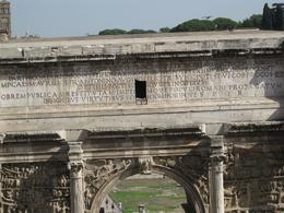 Photo of Rome Ancient Rome Half-Day Walking Tour Ancient inscriptions