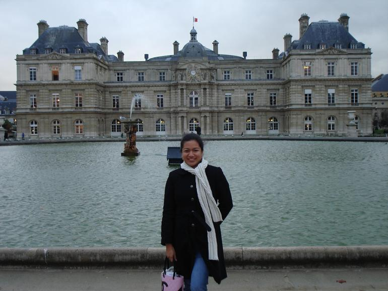 At Jardin de Luxembourg - Paris
