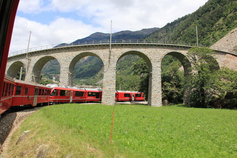 Bernina Express - Milan