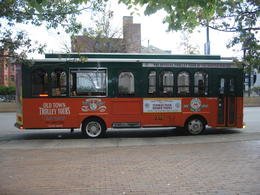 Boston Hop-on-Hop-off Trolley Tour Bus , JAYNE S - October 2011